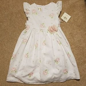 Gorgeous Laura Ashley Little Girl Rose Dress